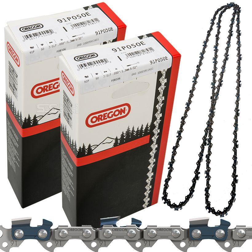 """Sägekette passend für Stihl 025 MS 250 35 cm 3//8/"""" 50 TG 1,3 mm Halbmeißel chain"""