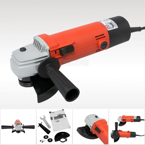 Matrix Powerline AG 500-115 Einhand Winkelschleifer - Trennschleifer 500 Watt 115 mm