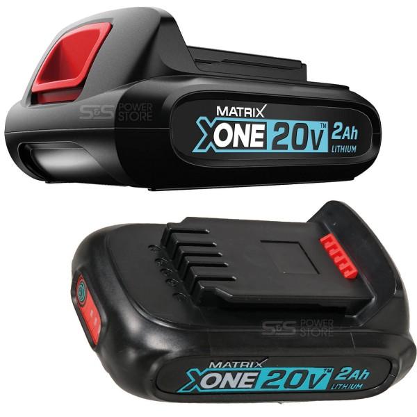 Matrix-Akku-20V-X-ONE-B2-2-Ah-Angebot-Ansichten