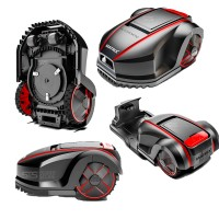 Matrix-Maehroboter-Automowtic-MOW800-Rasenmaehroboter-Set