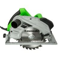 Kawasaki Handkreissäge K-CS 1400 Laser Kreissäge Schnitttiefe 66 mm
