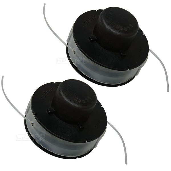 2 Stück Fadenspule Rasentrimmer Matrix RT 280-21 Fadenkopf Spule Doppelfadenkopf