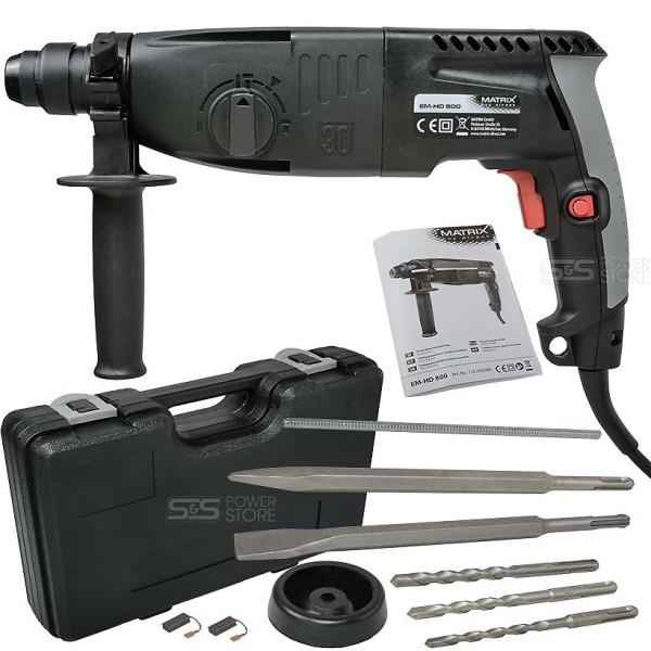 Matrix Bohrhammer EM-HD 800 Meißelhammer